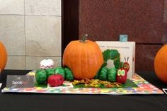 very hungry caterpillar pumpkins