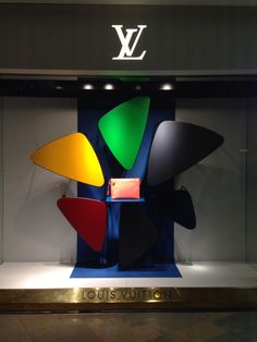 LK by Lincoln Keung: Louis Vuitton Window Display - Pacific Place in Hong Kong