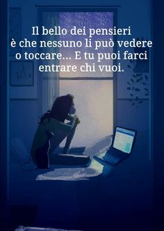 Meaningful Quotes, Inspirational Quotes, Cogito Ergo Sum, Italian Quotes, Tumblr Quotes, Instagram Story Ideas, Wow Products, Sentences, Decir No