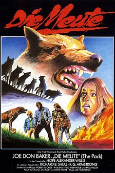 Do you love dog movies? What about horror movies with dogs? If so, read Joel Warren's essay about the killer dog movie The Pack (1977) by clicking on the German horror movie poster for this film
