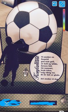 Et fotballkort ;)