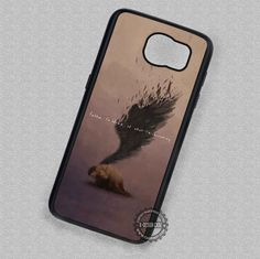 Broken Angel Quotes Supernatural- Samsung Galaxy S7 S6 S5 Note 5 Cases & Covers