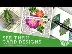 3d Cards, Stampin Up Cards, Altenew Cards, Fancy Fold Cards, Folded Cards, Jennifer Mcguire Ink, Interactive Cards, Card Making Inspiration, Card Tutorials