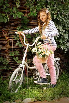 Я буду долго гнать велосипед... модель: Дарья стиль: Наталья Фонарева