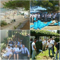 We care! #cleanupthemed #lindosblu