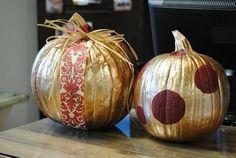 The Painted Pumpkin | 37 Easy DIY No-Carve Pumpkin Ideas