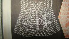 Veronica crochet y tricot. Crochet Skirts, Crochet Clothes, I Want To Work, Crochet Chart, Rubrics, Crochet Projects, Knitting, How To Make, Handmade