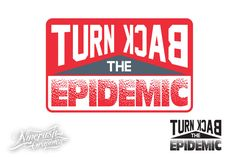 Turn Back Epidemic 3 AI files 3 SVG files 3 PNG files ( one version fill in white ) Design Crafts, Typo, Improve Yourself, Creative, Fill, Stock Photos, Ideas, Thoughts
