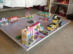 lego under bed storage table - Google Search