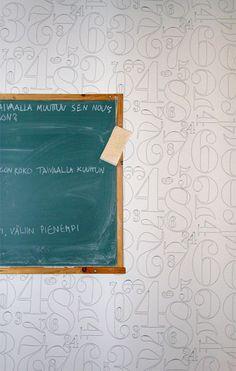 by Annikki & Ilmari Tapiovaara Perfect Wallpaper, Shades Of Grey, Kids Room, Colours, Flooring, Pattern, Wallpaper Ideas, Inspiration, Vintage