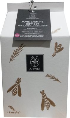 Apivita Πακέτο Προσφοράς Gift Set Pure Jasmine Shower Gel 300ml, Moisturizing Body Milk 200ml &Δώρο Hand Care Cream Jasmine 50ml. Μάθετε περισσότερα ΕΔΩ: https://www.pharm24.gr/index.php?main_page=product_info&products_id=13280
