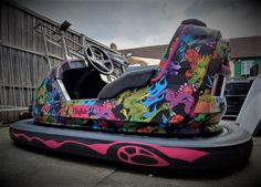 We absolutely loved making this project! Bringing back great memories.If you ride a dodgem car this summer, stand out with your design and show them who is the boss! Fun Fair, Car Wrap, Great Memories, Amusement Park, Signage, Your Design, Baby Car Seats, Digital Prints, Vehicle
