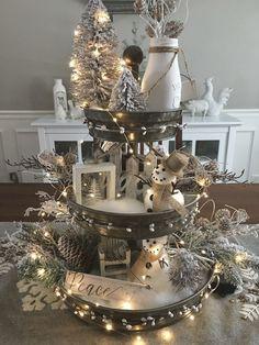 Rustic Christmas, Winter Christmas, Christmas Home, Merry Christmas, Christmas Projects, Christmas Crafts, Christmas Ideas, Christmas Table Decorations, Holiday Decor
