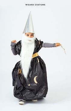 Homemade Wizard Costume