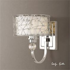 Brandon, 1 Lt Wall Sconce's designs of wall light can provide a designer look in the overall room  of your spring inspired interior. #walllighting