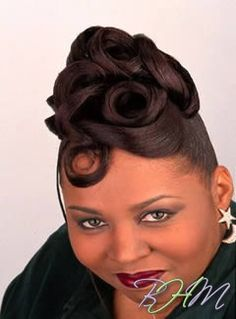 African French Roll Hairstyles Picturesso