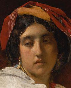 Leon Bonnat - The Italian Figurative Art, Painting Art, Art Inspo, Oil On Canvas, Italy, Fine Art, Face, Artwork, Italia