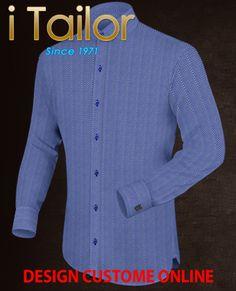 Design Custom Shirt 3D $19.95 chemise sur mesure paris Click http://itailor.fr/shirt-product/chemise-sur-mesure-paris_it597-1.html