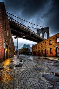 back street NYC...Brooklyn