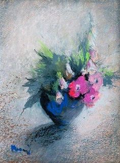 Find artworks by Elvi Maarni (Finnish, 1907 - on MutualArt and find more works from galleries, museums and auction houses worldwide. Soft Colors, Colours, North Europe, Flower Paintings, Vincent Van Gogh, Contemporary Artists, Flower Art, Still Life, Pink Flowers
