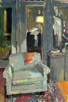 """huariqueje: """"  Président de la nuit - Carole Rabe American Oil on canvas . 30 x 20 in. """""""