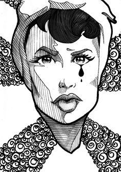 Skecths para o projeto Sketchbook Project 2012