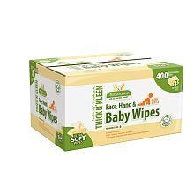 BabyGanics Newborn Value Pack Wipes - 400 Count