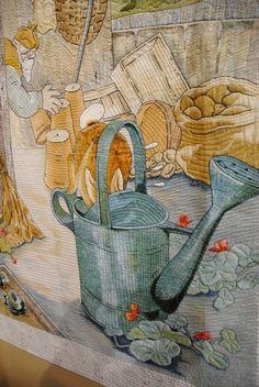 William Morris in Quilting: Tokyo Quilt Festival Part 2 Applique Designs, Quilting Designs, Art Quilting, Quilt Art, Beatrice Potter, Animal Quilts, Quilt Festival, Ribbon Art, Applique Quilts