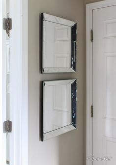 knock off beveled mirrors
