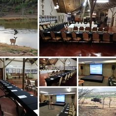 Some great conference setups and audiovisual setups by at Keeping conferencing interesting with unique venues and surrounded by nature at it's best!