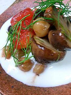 水切りをしたヨーグルトに塩、黒胡椒、オリーブオイル、ライムを搾って混ぜるだけのソース☆ - 39件のもぐもぐ - 無脂肪ヨーグルトソース☆温野菜サラダ by jurikiyoshi