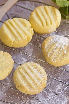 4 Ingredient Melting Moments Cookies Recipe