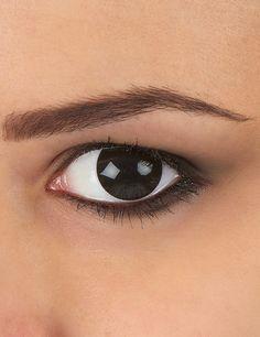 383a9bcc40 Lentillas ojo negro: Estas lentes de contacto de fantasía son de color  negro. Miden