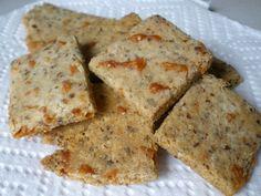 Grain-free Parmesan Almond Meal Crackers