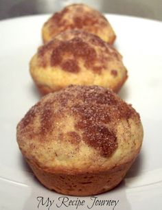 French Toast Muffins...ready in less than 30 min. And tastes just like French toast!