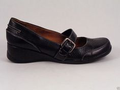 Womens Mary Jane Size 7.5 M Leather Shoes Loafers Naturalizers Natural Soul #Naturalizer #MaryJanes