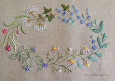 By Elena Tikhomirova #needlework #handembroidery #ricamo #bordado #broderie #embroidery