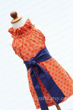 NEW  Tangerine DelightWomen's Ruffler Dress by TheLaughingGiraffe, $69.00
