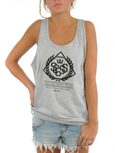 Exploration Tank Top for women by Success 50% Cotton 50% Polyester Model is wearing a size Large