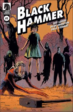 Preview: Black Hammer #1, Cover - Comic Book Resources