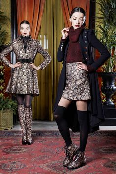 Alice + Olivia Fall 2015 Ready-to-Wear Fashion Show Collection