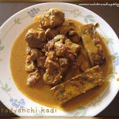 Sunday Special - Pathradyanchi Kadi (Mutton/Chicken Gravy for Pathrades) Recipe