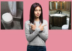Shower Rod, Glass Shower Doors, Shower Heads, Neo Angle Shower, Park Model Homes, Fixed Shower Head, Lavatory Sink, Don't Settle, Bathroom Styling