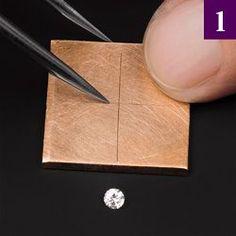 Flush Setting  Diamonds