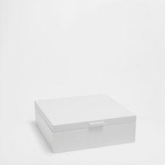 WHITE JEWELLERY BOX - Boxes - Decoration | Zara Home United Kingdom