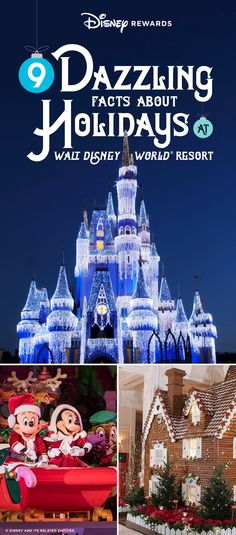 "Here are some fun facts about what it takes for Disney to transform Magic Kingdom® Park and Walt Disney World® Resort into the ""sparkliest place on Earth. Disney World Parks, Disney World Planning, Disney World Vacation, Disney World Resorts, Disney Vacations, Disney Trips, Family Vacations, Disney Christmas Parade, Disney Christmas Shirts"