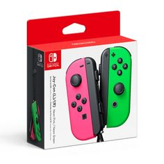 Buy Nintendo Switch Joy-Con Neon Green/ Neon Pink Controller Set on Switch at Mighty Ape NZ. The Nintendo Switch Joy Con Controller can be used in a variety of ways to accommodate one or two players either at home or on the go. Nintendo Ds, Buy Nintendo Switch, Nintendo Console, Super Nintendo, Nintendo Games, Mario Kart, Game Controller, Nintendo Wii Controller, Zulu