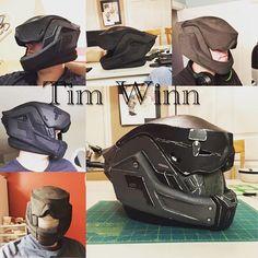 My destiny helmet #destiny #destinyvshalo #mask #helmet #Titan #bungie #evafoam #freakinrad #stonyprops #itstimstime #alwaystimstime #cosplay #costume #armor #awesome #epic #eva #props #robots #videogames #xboxone #xbox360 #xboxlive @freakinrad