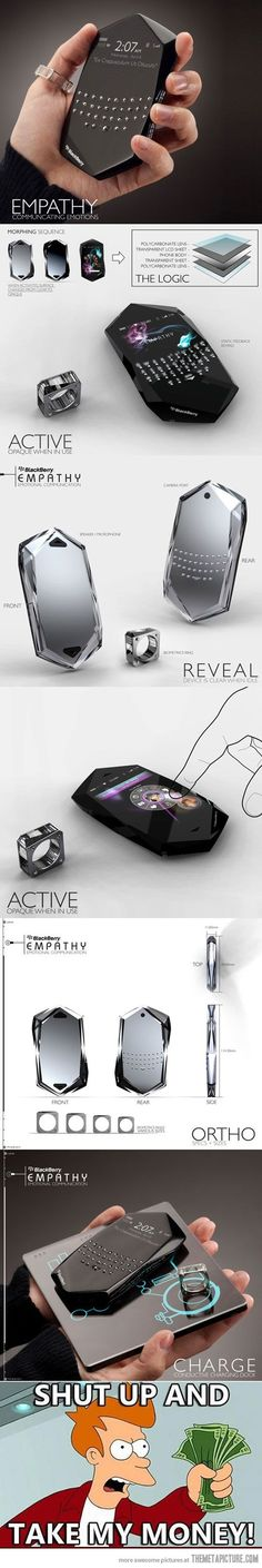 May I have this phone please? // 개인적으로 핸드폰이 굳이 네모난 필요가 있을까 하는 생각이 든다. 원석을 닮아 아름다운. 굉장히 마음에 드는 디자인