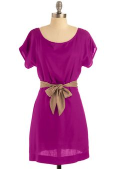 Unbelievable Dress in Fuchsia, #ModCloth